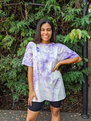 Runaway Tee in Purple