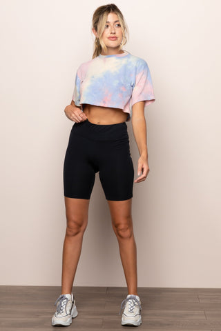 Tie Dye For Crop in Multicolor