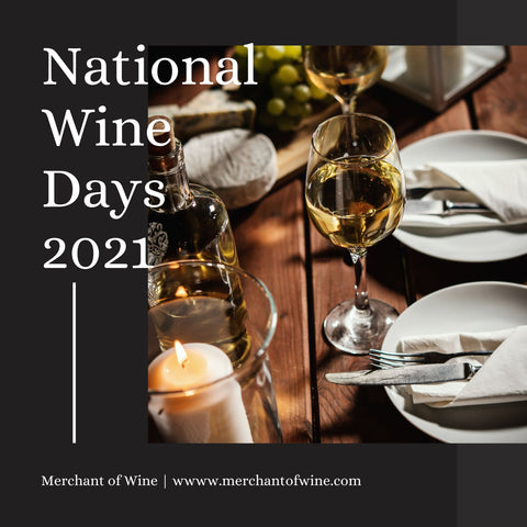National Wine Days 2021 at merchant of wine