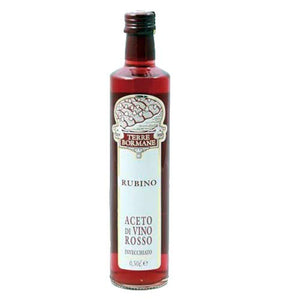 Terre Bormane Rubino Red Wine Vinegar, Piedmonte, Italy - Merchant of Wine
