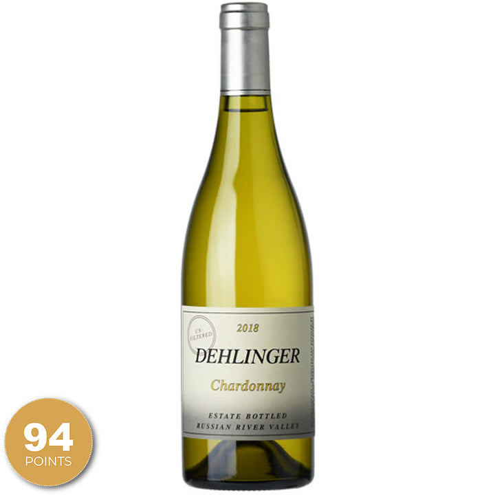 Dehlinger Estate Chardonnay, Russian River Valley, Sonoma, California, 2018 through Merchant of Wine.