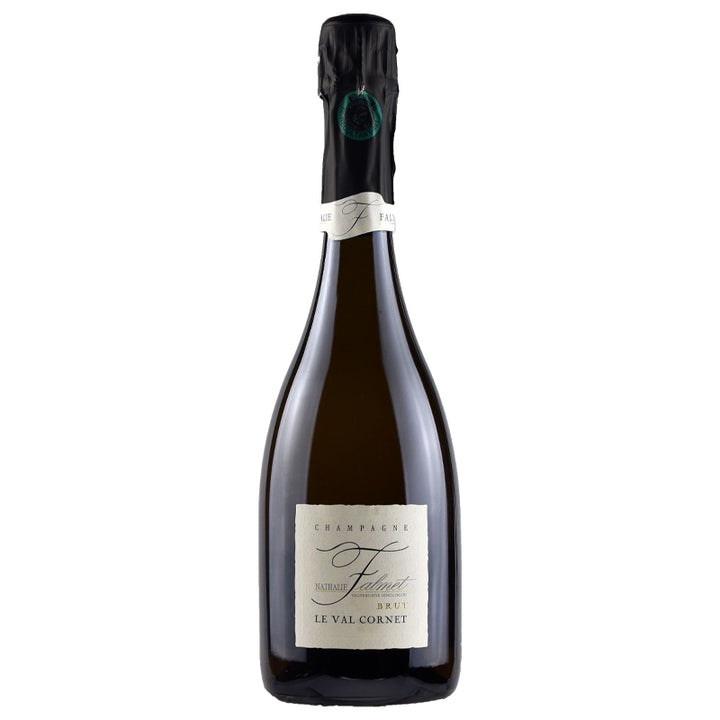 Nathalie Falmet, Le Val Cornet Brut, Champagne, France, NV through Merchant of Wine.