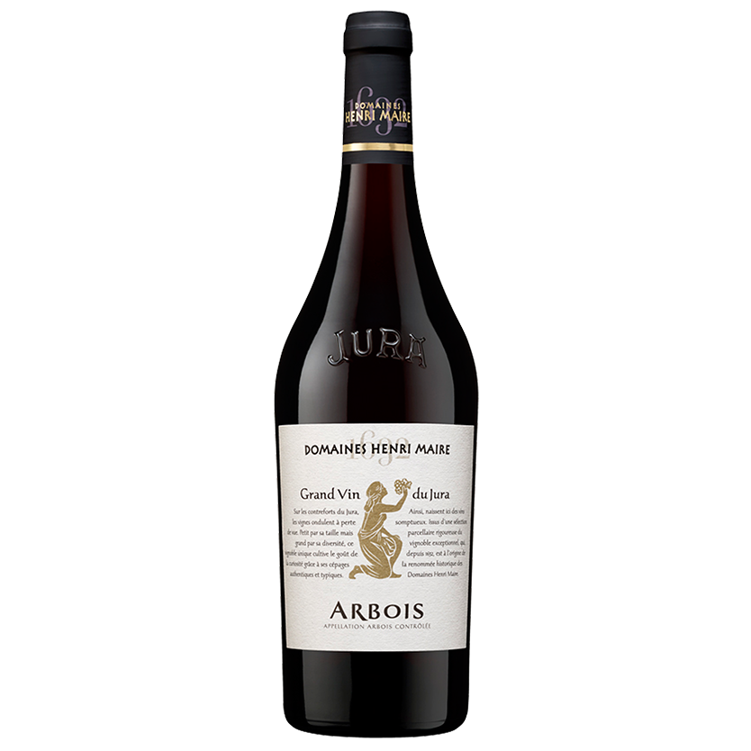 Domaine Henri Maire Arbois Rouge, Jura, France, 2016 - Merchant of Wine
