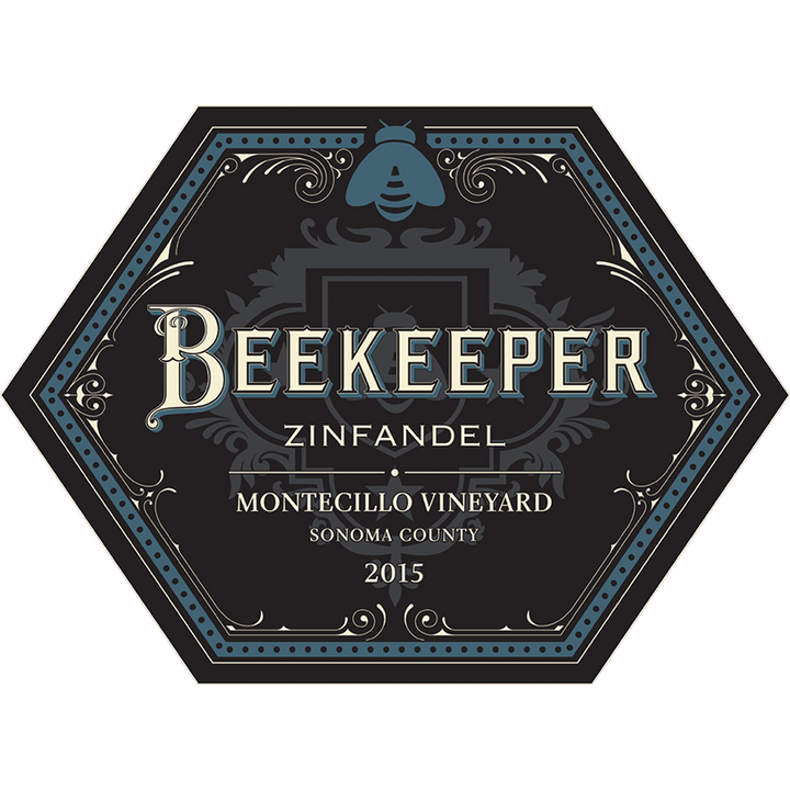 Beekeeper Cellars, Zinfandel, Montecillo Vineyard, Sonoma County, California, 2015 - Merchant of Wine