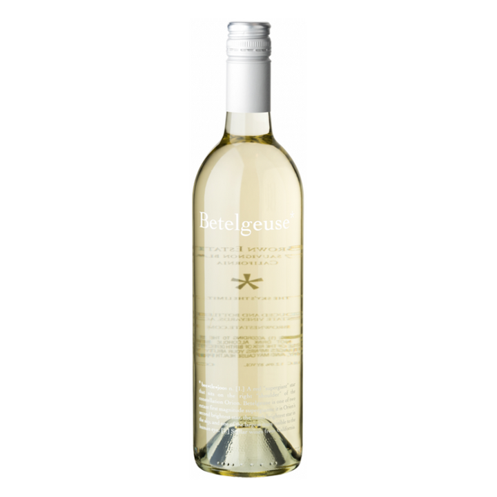 Brown Estate Betelgeuse Sauvignon Blanc, Napa Valley, California, 2018 - Merchant of Wine