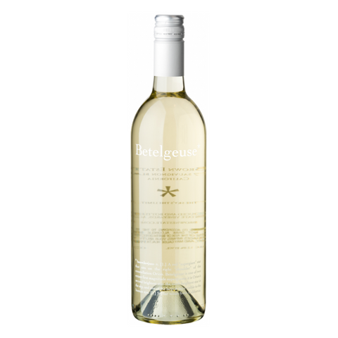 Brown Estate Betelgeuse Sauvignon Blanc, Napa Valley, California, 2018