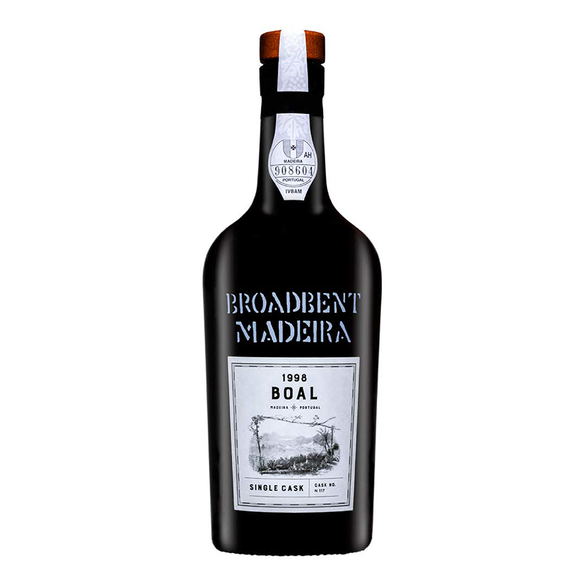 Broadbent Single Cask Boal, Madeira, Portugal, 1998
