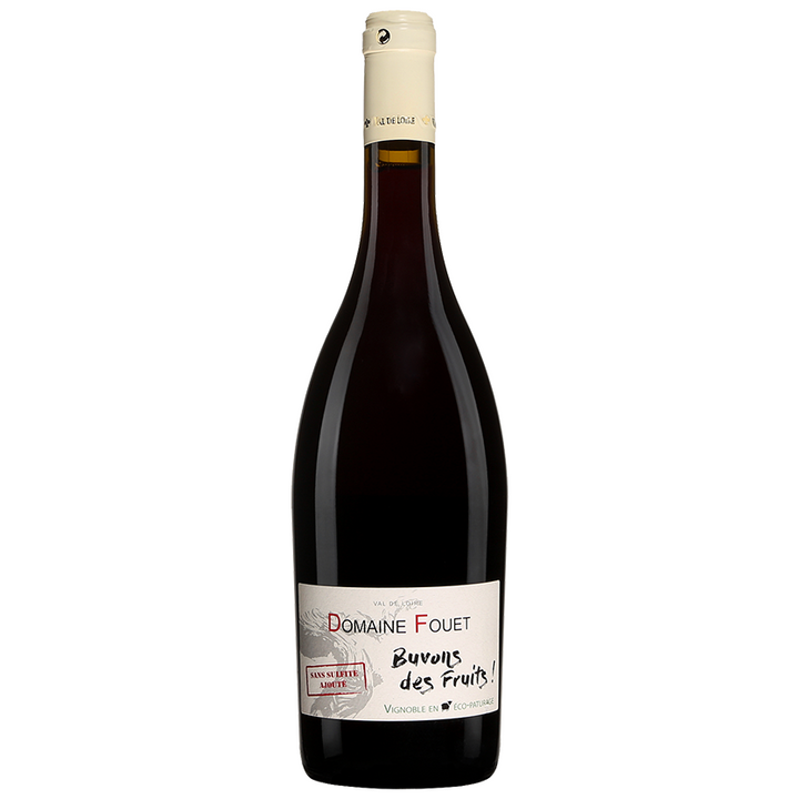 Domaine Fouet Buvons des Fruits, Cabernet Franc, Loire Valley, France, 2018 (Organic) (Natural) - Merchant of Wine