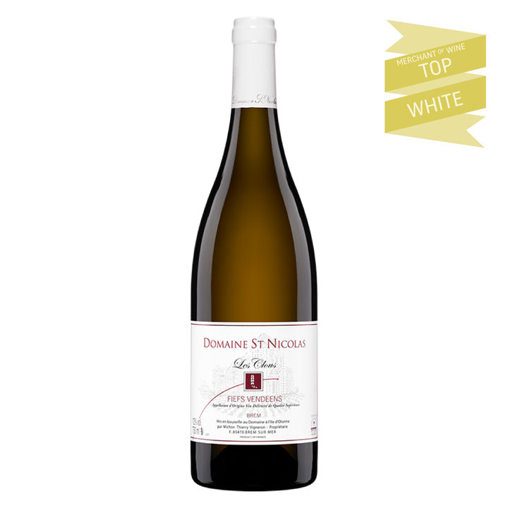 Domaine Saint Nicolas Le Clous, Fiefs-Vendéens, Loire, France, 2013 (Biodynamic) - Merchant of Wine