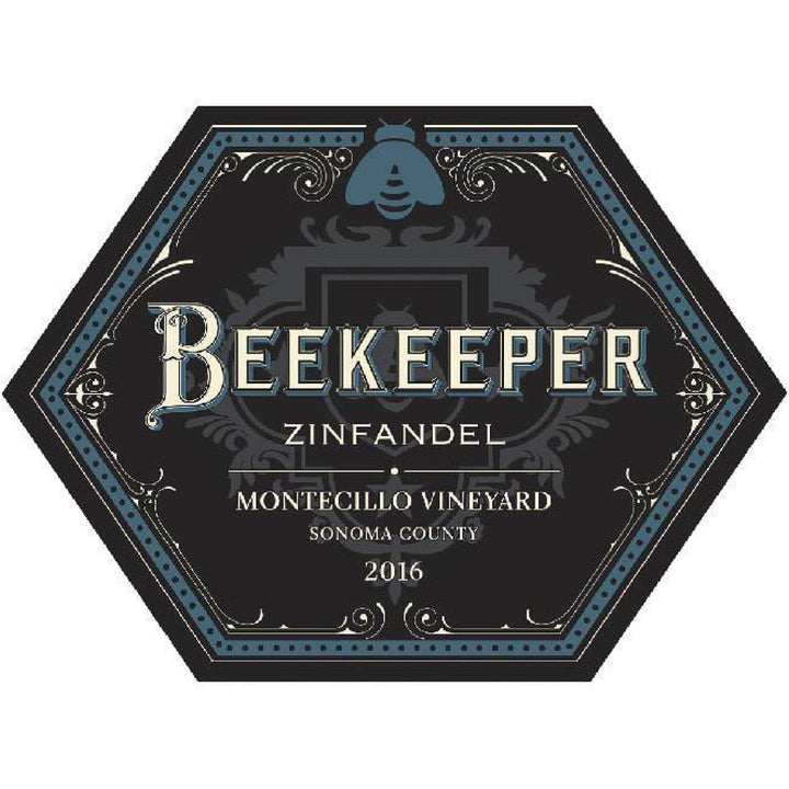 Beekeeper Cellars, Zinfandel, Montecillo Vineyard, Sonoma County, 2016 (DRY FARMED SUSTAINABLE) - Merchant of Wine