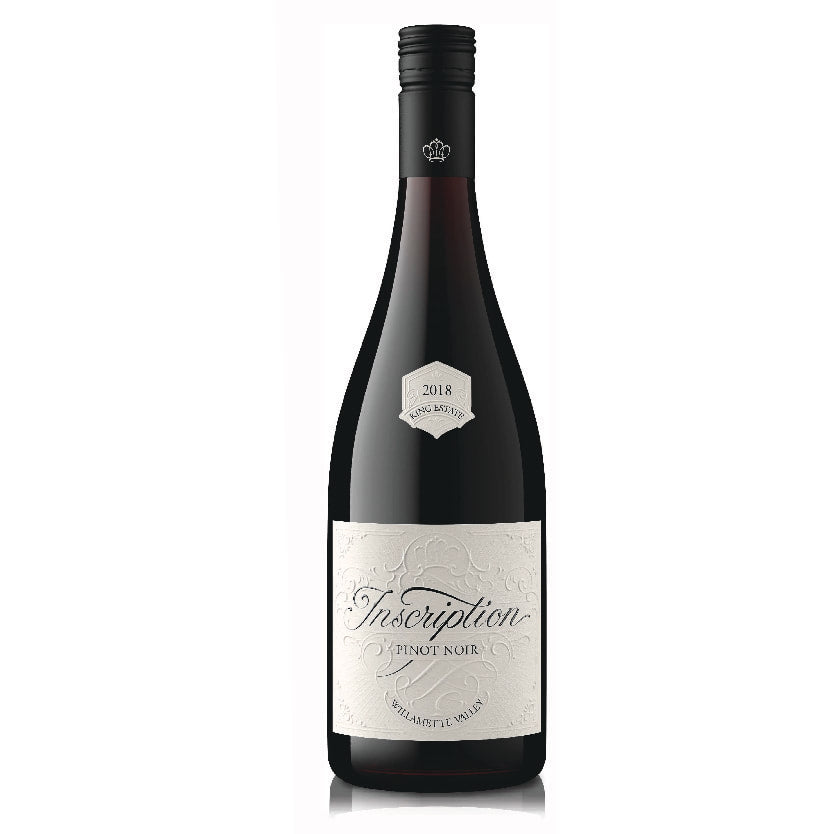 Inscription Pinot Noir Willamette Valley, Oregon, 2018 (by KING ESTATE)
