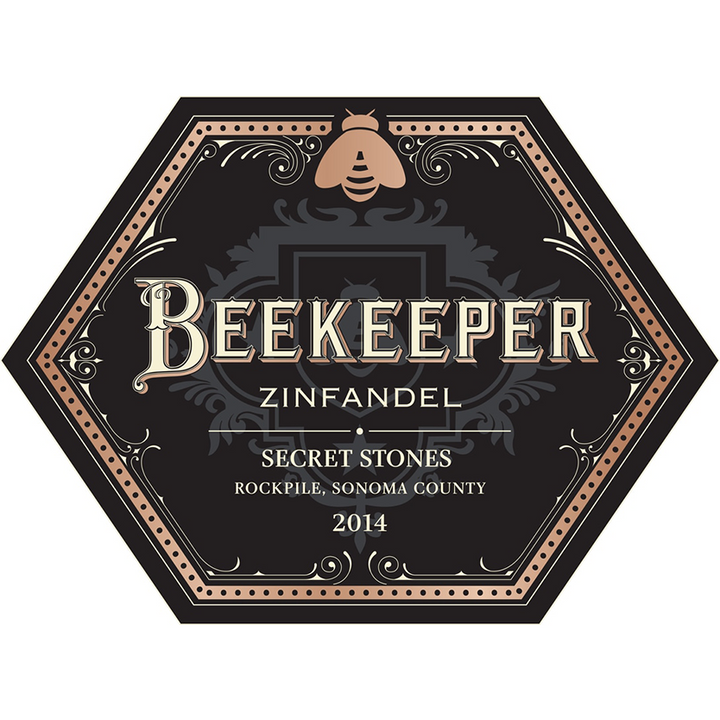 "Beekeeper Cellars, ""Secret Stones,"" Rockpile Appellation, Sonoma County, California, 2014 - Merchant of Wine"
