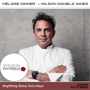 Saturday, October 24th @ 7pm - Mélisse Dinner w/ Chef Josiah Citrin & The Wines of Wilson Daniels