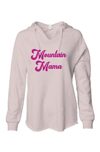 Mountain Mama Blush Fleece