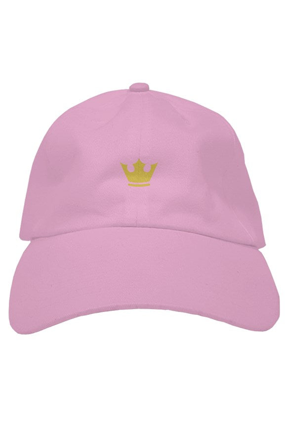 Gold Crown Embroidered Hat