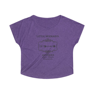Little Mermaid Shirt, Women's Tri-Blend Dolman Sleeve - The Modern Vintage Shop T-Shirt