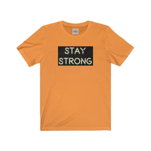 Stay Strong Neon Unisex Jersey Short Sleeve Tee