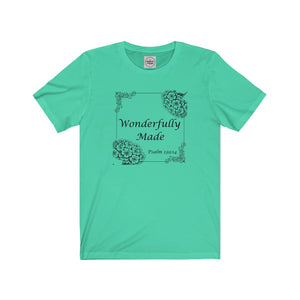 Wonderfully Made Psalm 139 Unisex Shirt