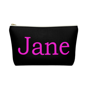 Mr. Darcy PERSONALIZED Accessory pouch with T-Bottom Cosmetic Bag - The Modern Vintage Shop T-Shirt