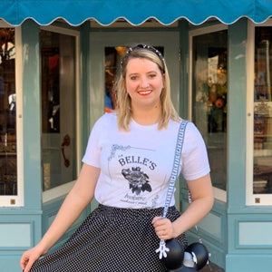 Belle's Bookstore Short Sleeve Unisex Tee