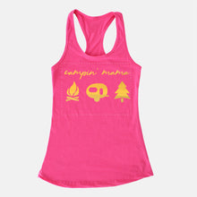 Load image into Gallery viewer, Campin' Mama Foil Tank Top