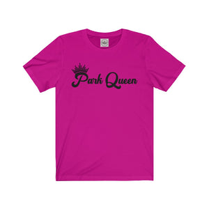 Park Queen Retro Shirt, Women's Unisex Jersey Short Sleeve Tee, Eco-Friendly Tee for Vacation