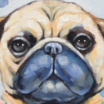 Load image into Gallery viewer, Pug - Painting - Osharey Framed Wall Art