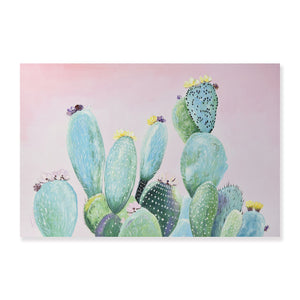 Cactus - Painting - Osharey Framed Wall Art