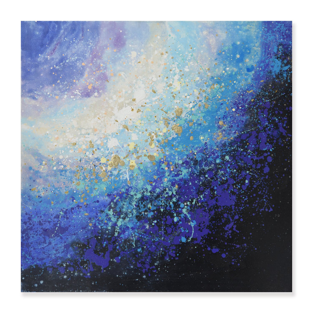 Galaxy - Painting - Osharey Framed Wall Art