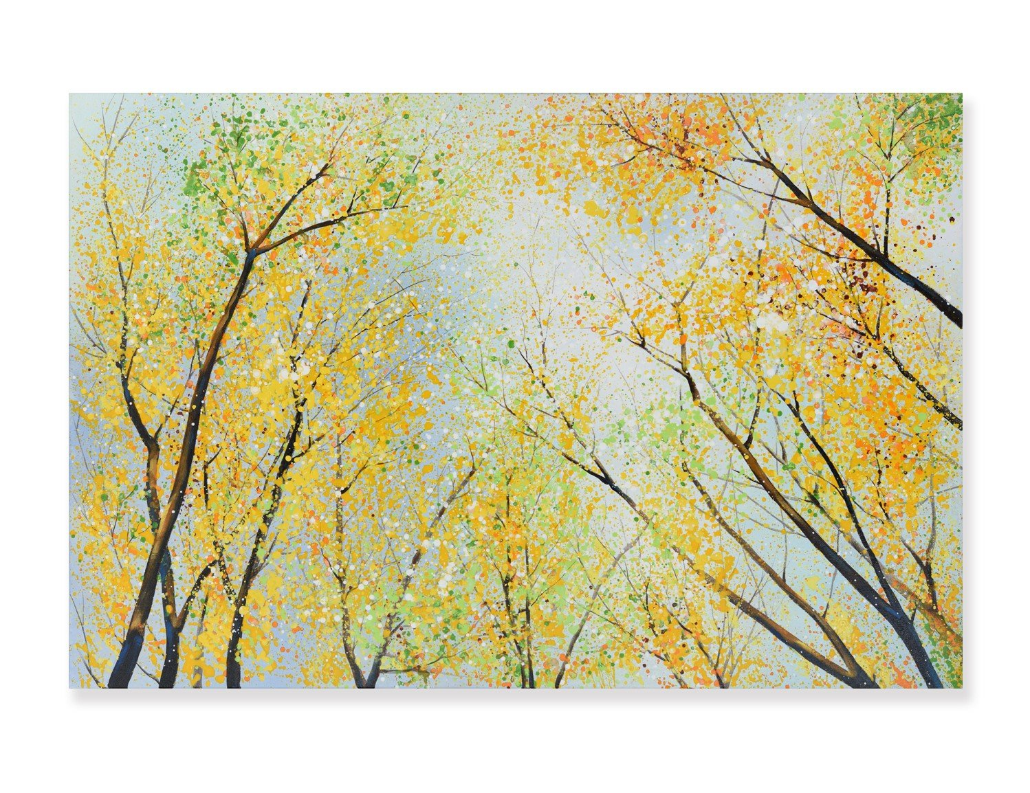 Spring Forest - Painting - Osharey Framed Wall Art