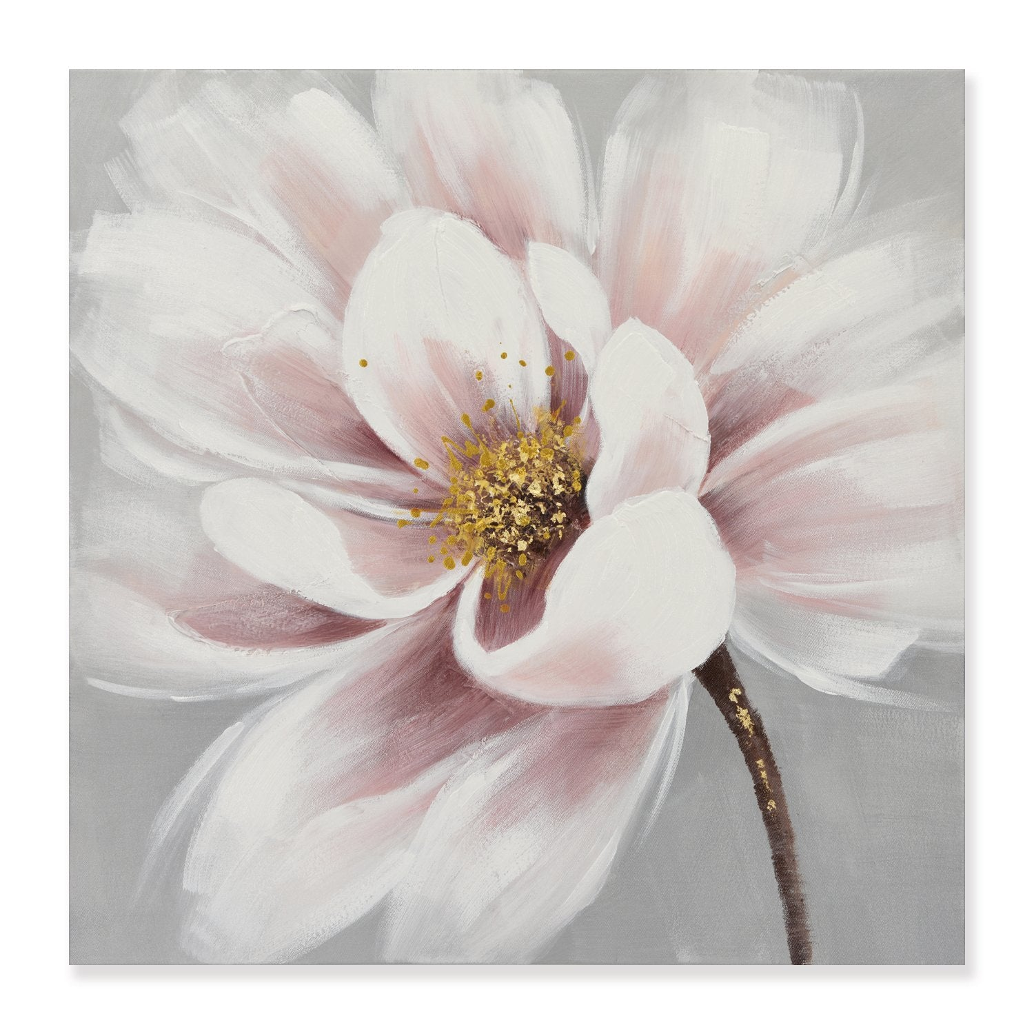 Blooming in Pink - Painting - Osharey Framed Wall Art