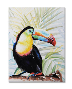 Toucan - Painting - Osharey Framed Wall Art