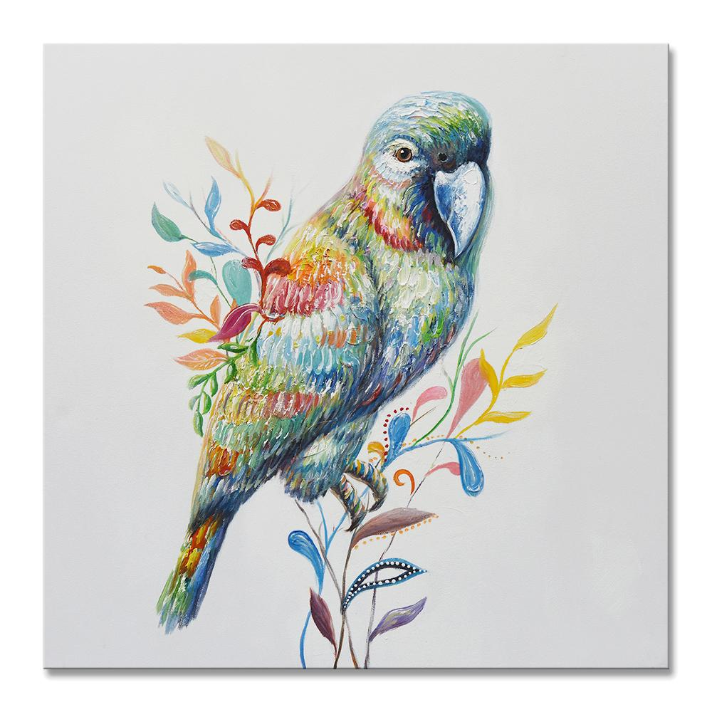 Parrot - Painting - Osharey Framed Wall Art