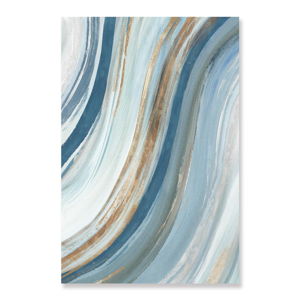 Azure Blue - Canvas Print - Osharey Canvas Wall Art