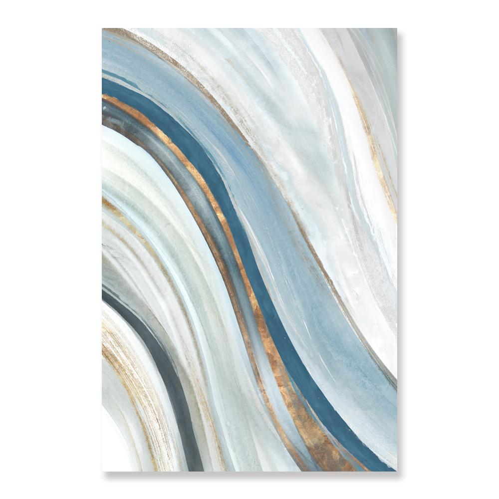 Azure Blue - Canvas Print - Osharey Framed Wall Art