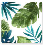 Load image into Gallery viewer, Green Tropical Leaves - Canvas Print - Osharey Framed Wall Art