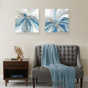 Blue Monarch - Canvas Print - Osharey Canvas Wall Art