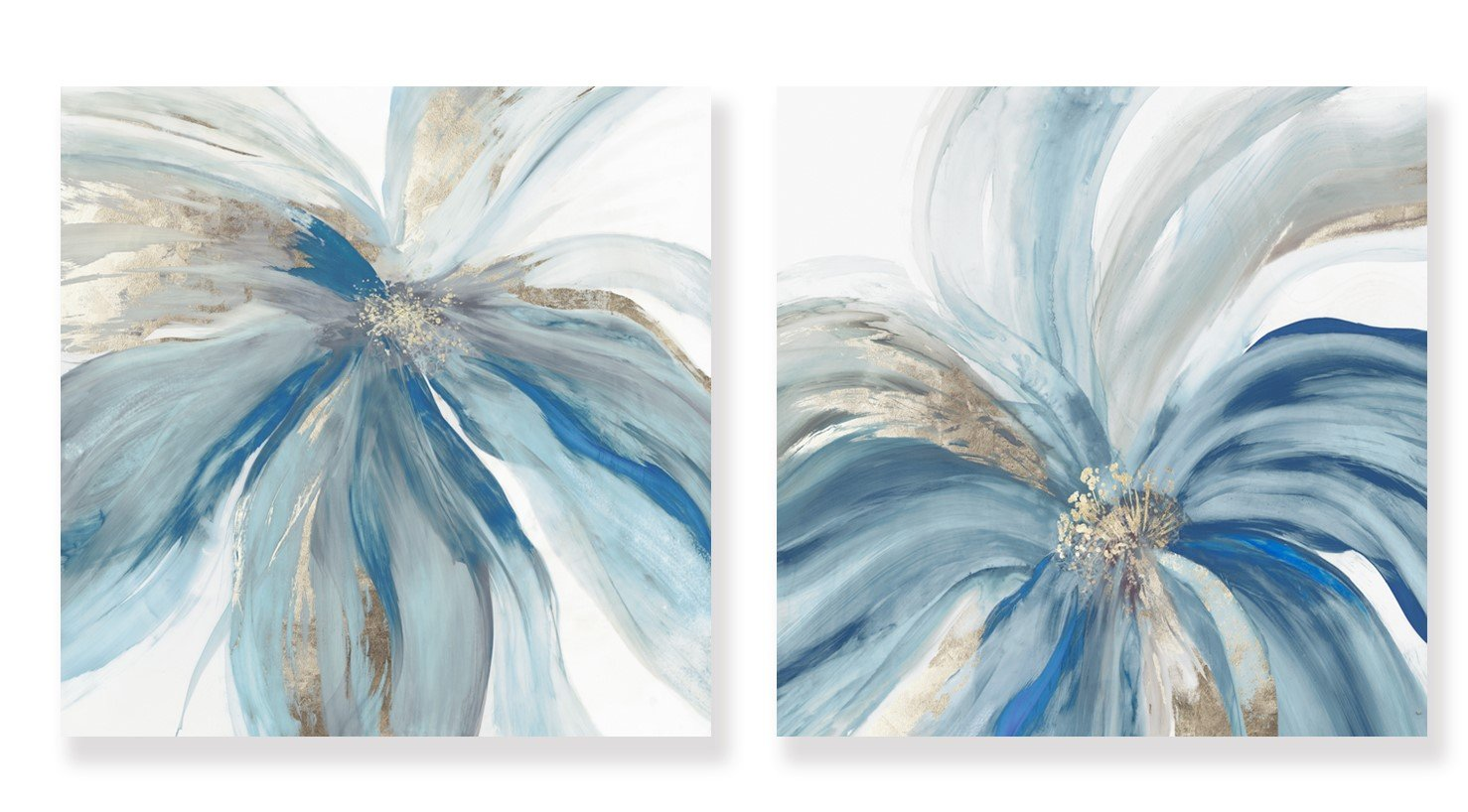 Blue Monarch - Canvas Print - Osharey Framed Wall Art