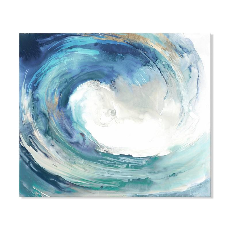 Ride the Waves - Canvas Print - Osharey Canvas Wall Art