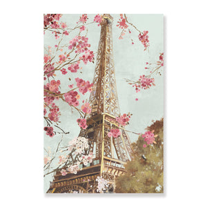 Paris in Spring - Canvas Print - Osharey Framed Wall Art