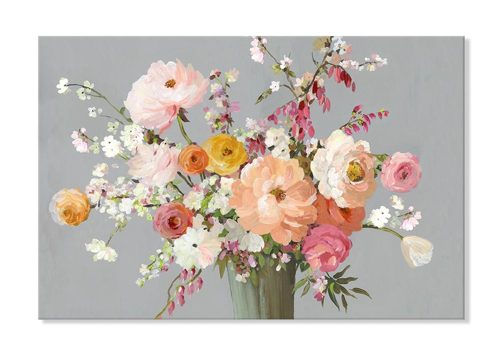 Flora Song - Canvas Print - Osharey Framed Wall Art