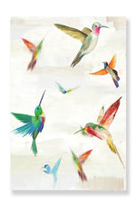 Load image into Gallery viewer, Hummingbirds - Canvas Print - Osharey Framed Wall Art
