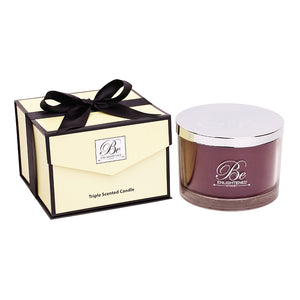 Be Enlightened Luxury Triple Scented Candle 1.6kg Cinnamon & Nutmeg