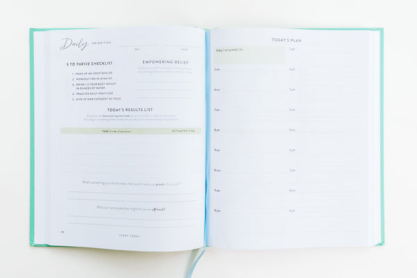 Start Today Priority Planner at Target - StartToday.com