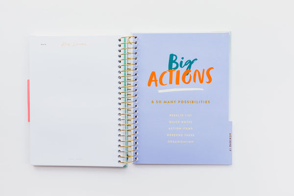 Start Today Notebook Big Dreams - StartToday.com