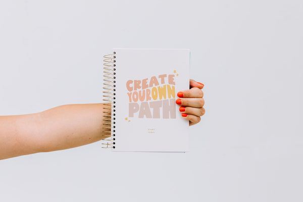 Create Your Own Path Notebook - StartToday.com