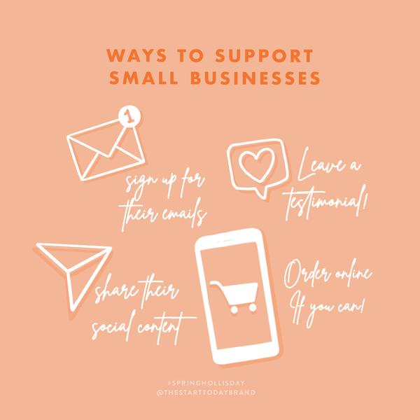 How to Support Small Business - StartToday.com