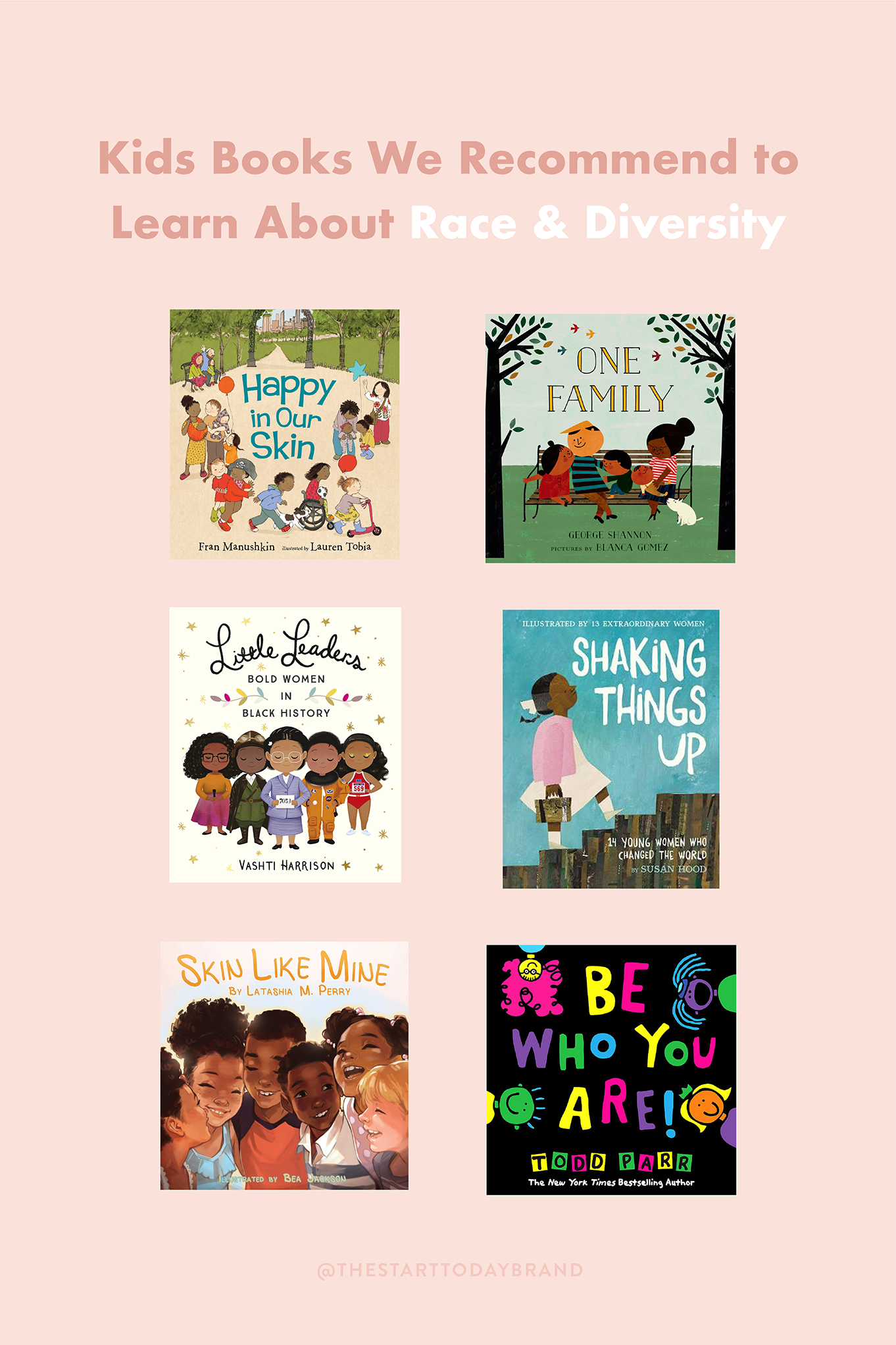 7 Kids Books to Learn About Race & Diversity - StartToday.com