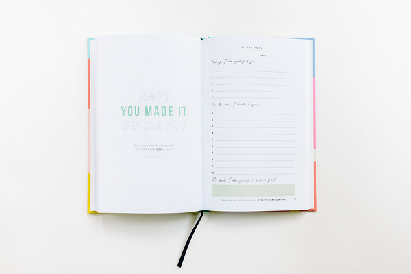 The Rachel Hollis x Target Mexico City Collection Priority Planner Inside Pages - StartToday.com