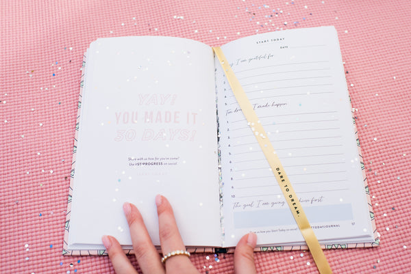 Rachel Hollis Target Start Today Journal Inside Pages